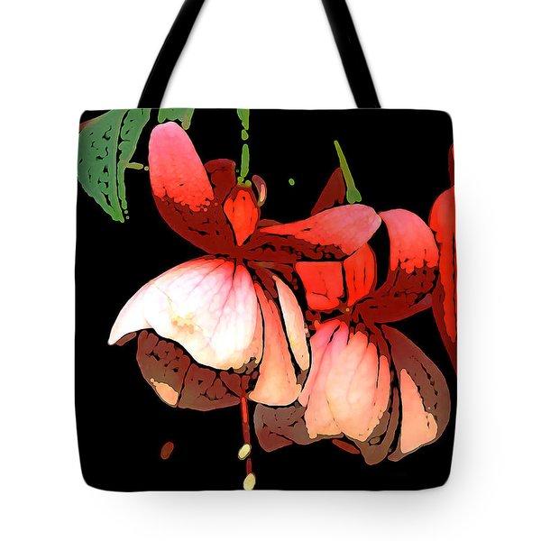 Pod Flower B Tote Bag