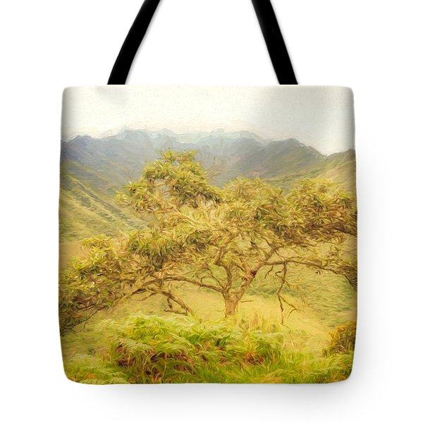Podocarpus Tree Tote Bag