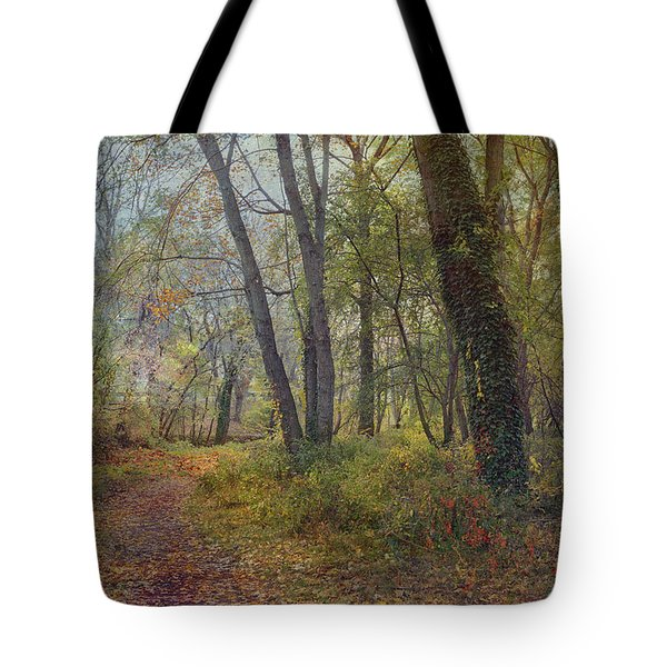 Poetic Season Tote Bag