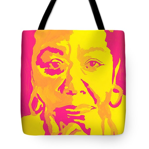 Poetically Speaking  Tote Bag by Miriam Moran