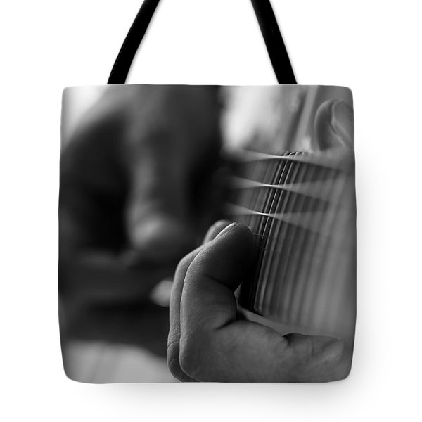 Poetry Of Sound Tote Bag by Lauren Radke