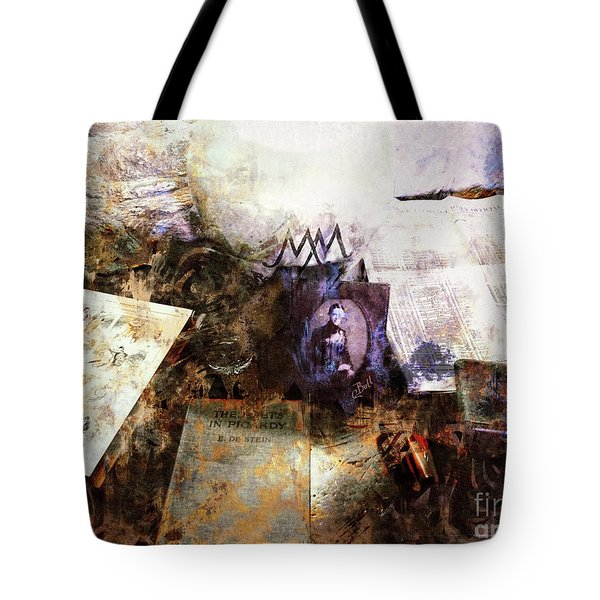 Tote Bag featuring the photograph Poets In Picardy by Claire Bull