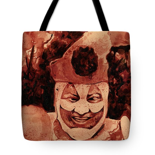 Pogo Painted In Human Blood Tote Bag
