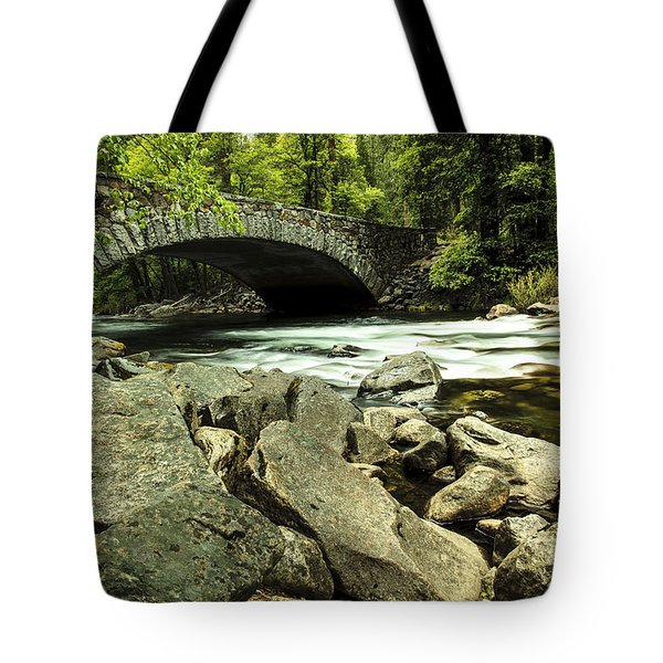 Pohono Bridge Yosemite Tote Bag