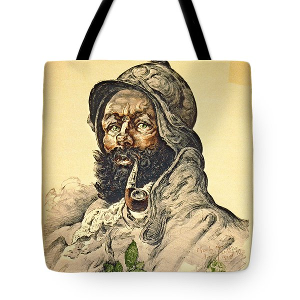 Poilu 1916 Tote Bag by Padre Art