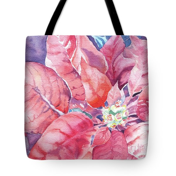 Poinsettia Glory Tote Bag