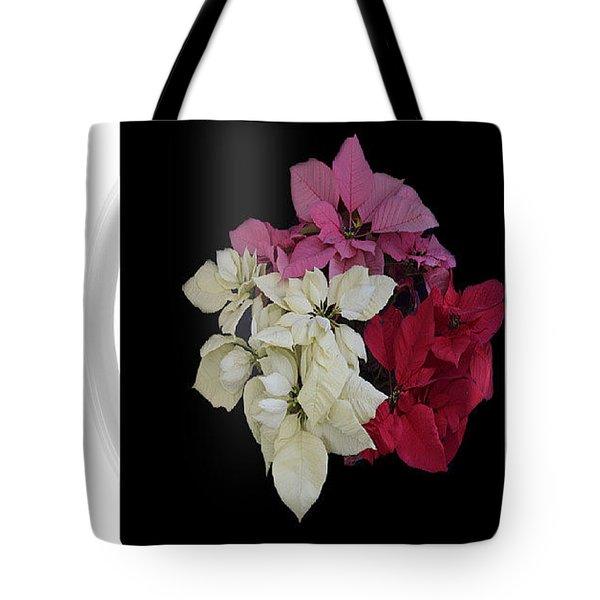 Poinsettia Tricolor Mug  Tote Bag by R  Allen Swezey