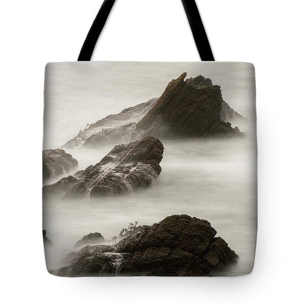 Tote Bag featuring the photograph Point Arena  by Dustin LeFevre