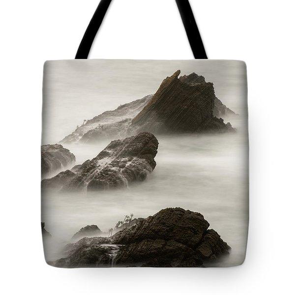 Point Arena  Tote Bag by Dustin LeFevre