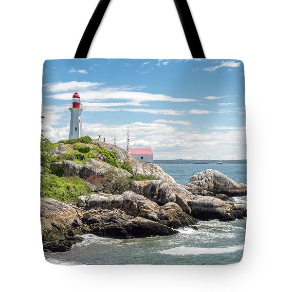 Tote Bag featuring the photograph Point Atkinson Lighthouse by Ross G Strachan