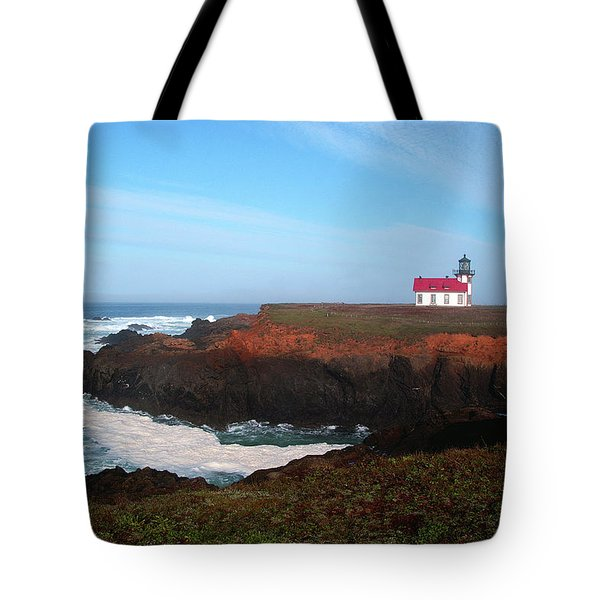 Point Cabrillo Light Station Tote Bag