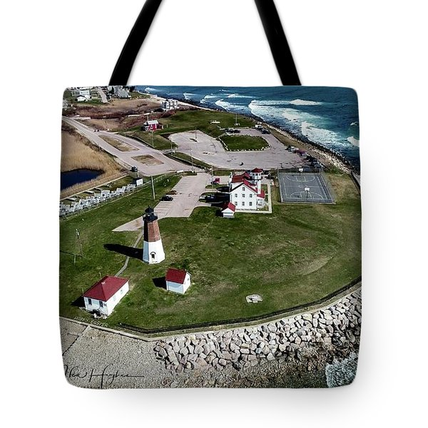 Point Judith Easter Cross Tote Bag