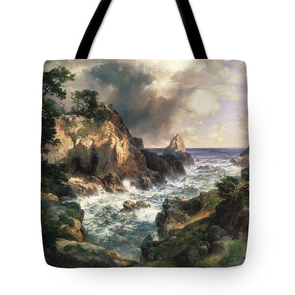 Point Lobos Monterey California Tote Bag