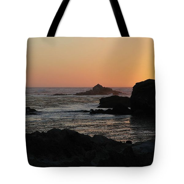 Point Lobos Sunset Tote Bag