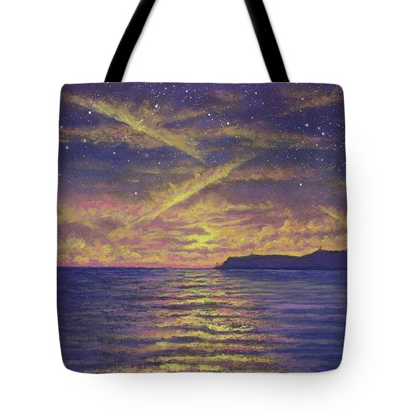 Point Loma Sunset 01 Tote Bag