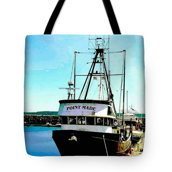 Point Made At Pt Townsend Wa Tote Bag