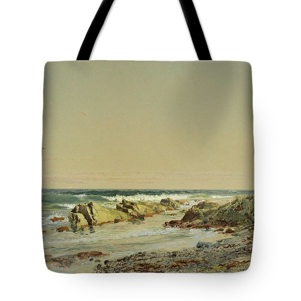 Point  Newport Tote Bag
