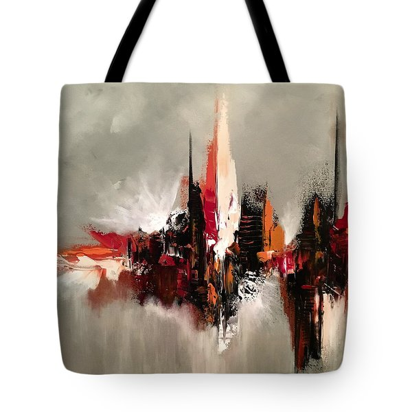 Point Of Power Tote Bag
