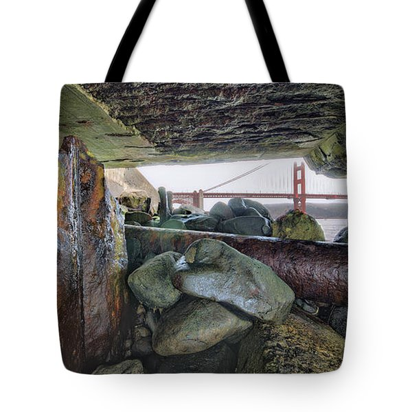 Tote Bag featuring the photograph Point Of View by Steve Siri