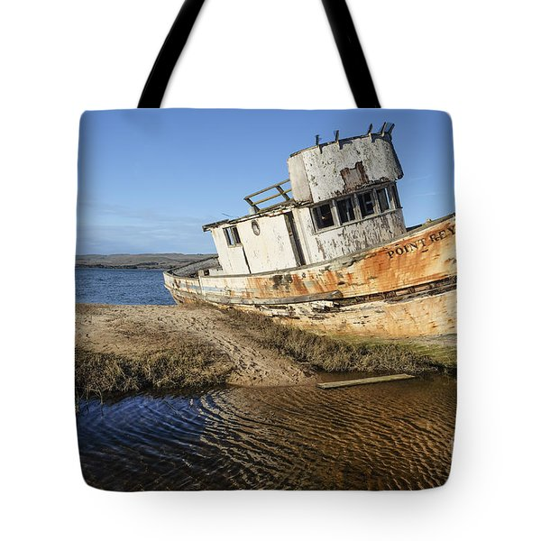 Point Reyes Shipwreck Tote Bag