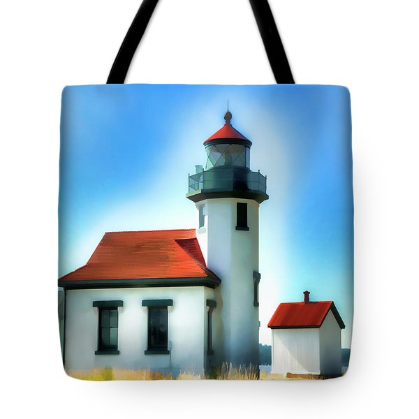 Point Robinson Lighthouse Tote Bag