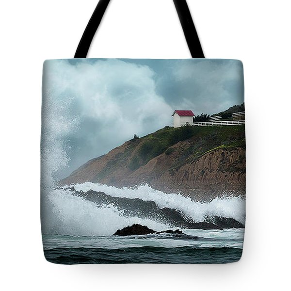 Point San Luis Lighthouse Tote Bag