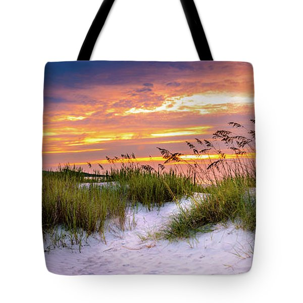 Point Sunrise Tote Bag