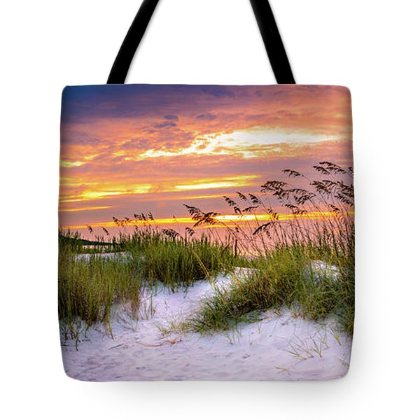 Point Sunrise Tote Bag