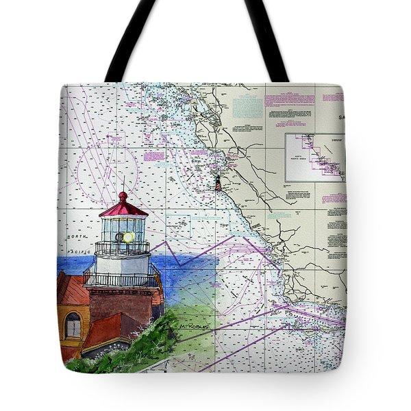 Point Sur Light Station Tote Bag