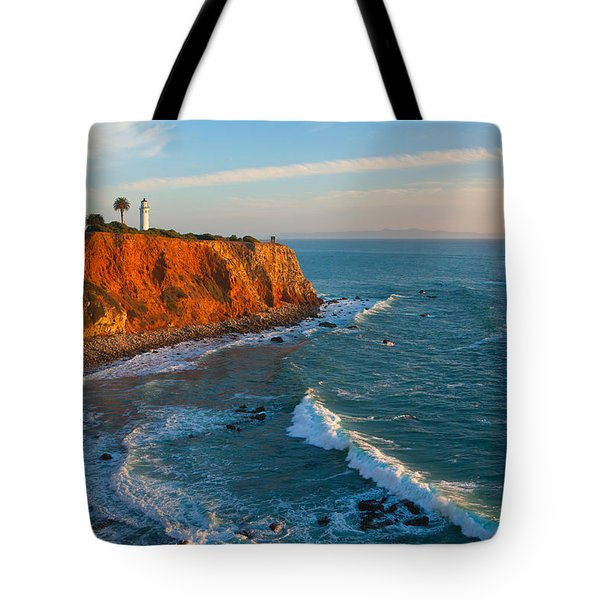 Point Vicente Lighthouse Palos Verdes California Tote Bag