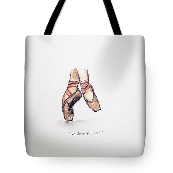 Pointe On Friday Tote Bag