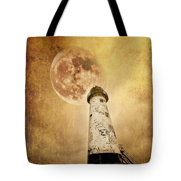 Pointing The Way Tote Bag by Meirion Matthias