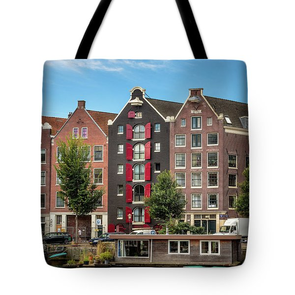 Pointing To The Sky Tote Bag