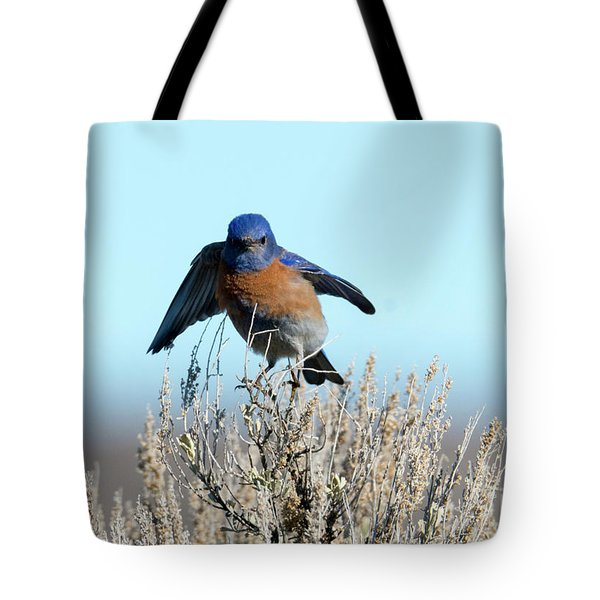 Poised To Fly Tote Bag