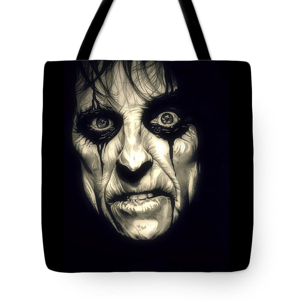 Poison Alice Cooper Tote Bag