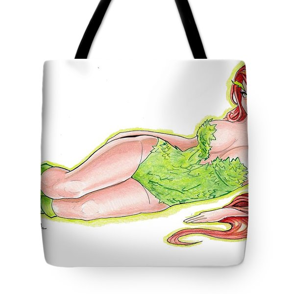 Poison Ivy 3 Tote Bag by Bill Richards