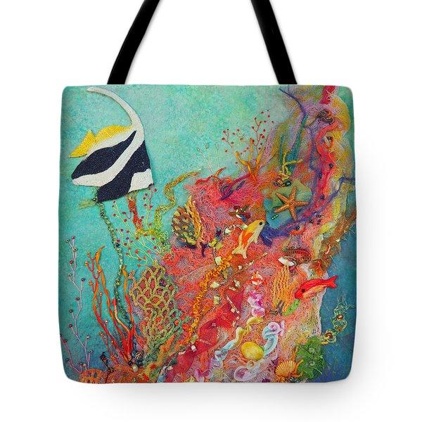 Poisson Angel Tote Bag