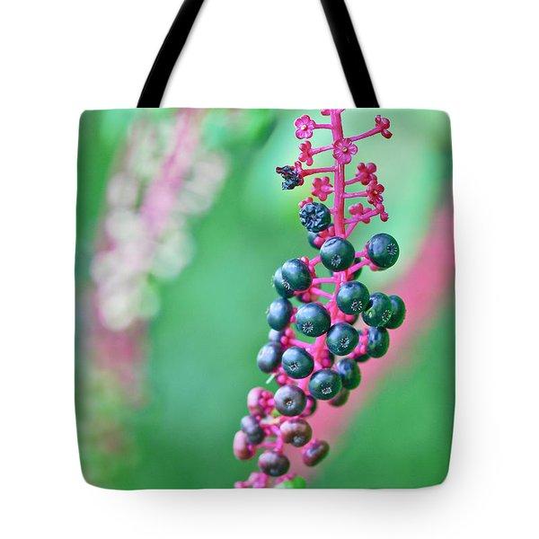 Poke Berries Tote Bag