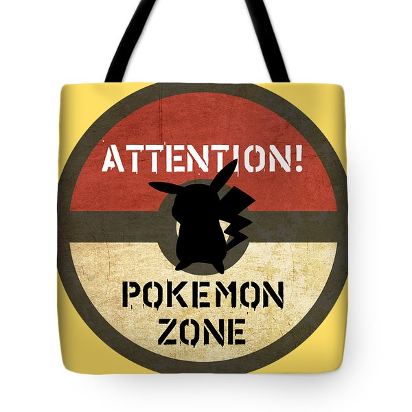 Pokemon Zone 3 Tote Bag