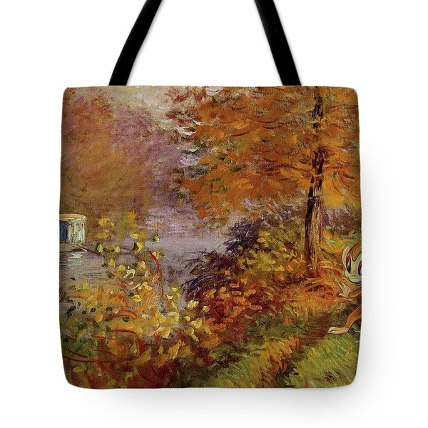 Tote Bag featuring the digital art Pokemonet by Greg Sharpe