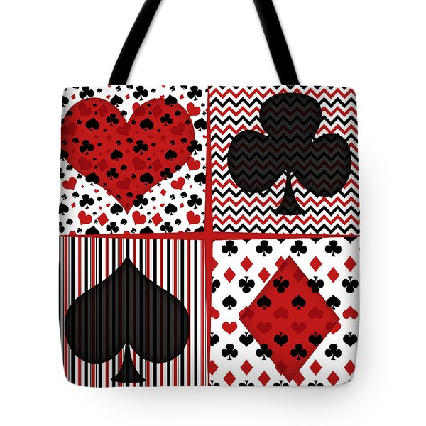 Poker In Four Tote Bag