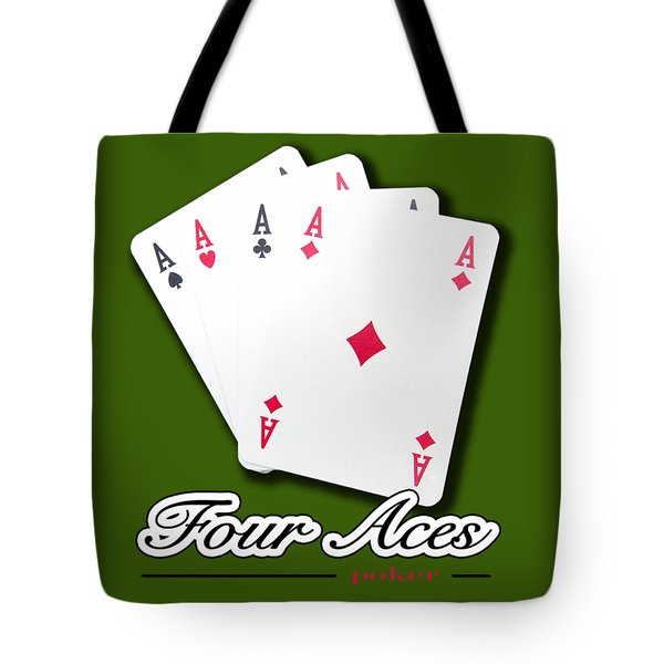 Poker Of Aces - Four Aces Tote Bag