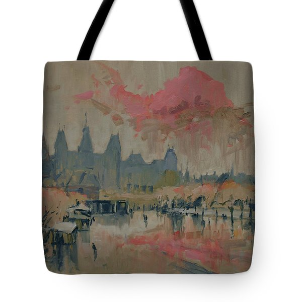 Pokkenweer Museum Square In Amsterdam Tote Bag