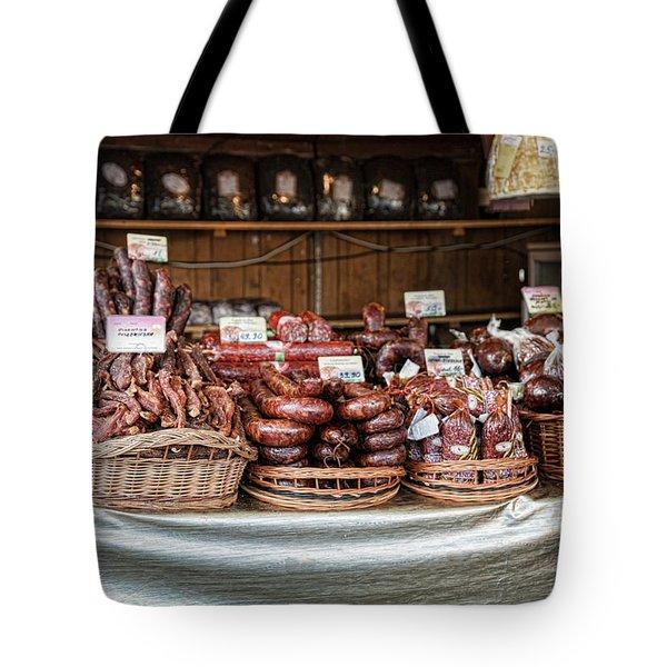 Poland Meat Market Tote Bag