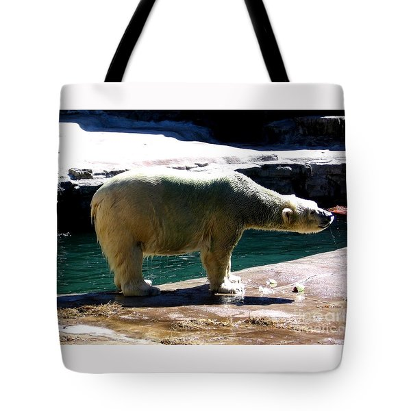 Polar Bear 3 Tote Bag