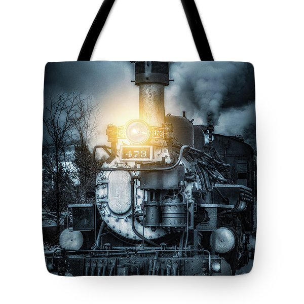 Tote Bag featuring the photograph Polar Express by Darren White