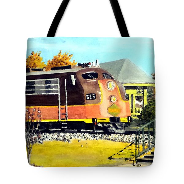 Polar Express Tote Bag
