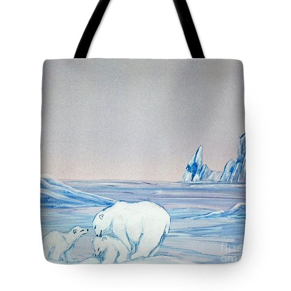 Polar Ice Tote Bag