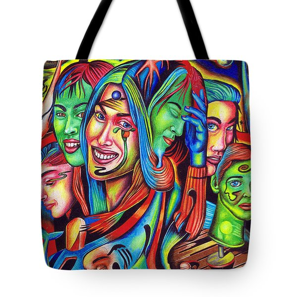 Polar Landscape Of Uncertain Stability Tote Bag