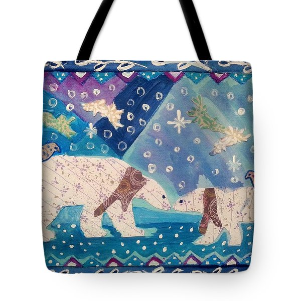 Polar Love Tote Bag